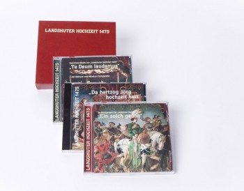 """3 CD's mit Musik zur """"Landshuter Hochzeit 1475"""" im Schuber"""