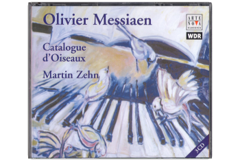 "CD ""Catalogue d´Oiseaux"" Oliver Messian"